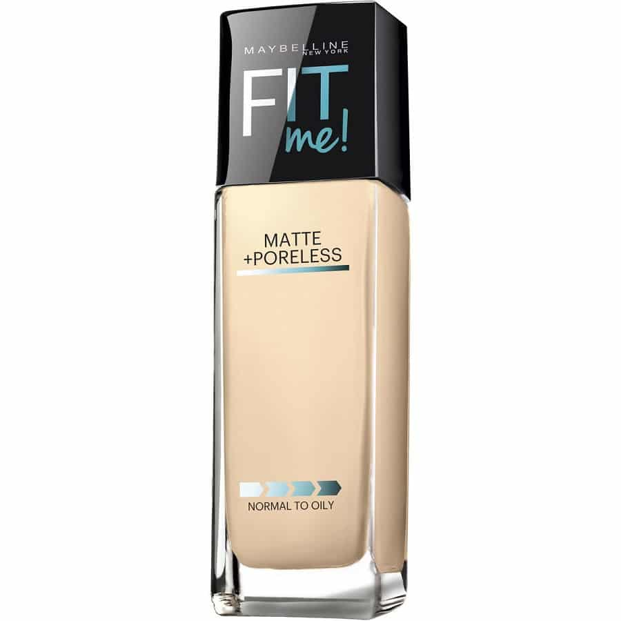 Maybelline Fit Me! Matte + Poreless Foundation (Porcelain) - купити в Україні