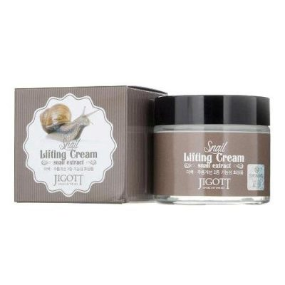 Ліфтинг-крем з муцином равлика ⋆ JIGOTT Snail Lifting cream 70ml