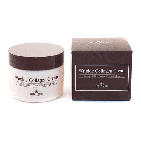THE SKIN HOUSE Wrinkle Collagen Cream - корейская косметика