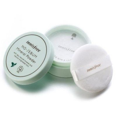 Матуюча розсипчаста пудра ⋆ INNISFREE No Sebum Mineral Powder