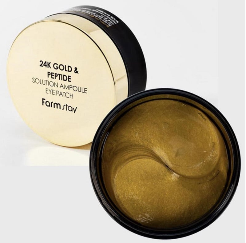 FARMSTAY 24K Gold And Peptide Solution Ampoule Eye Patch