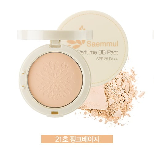 THE SAEM Saemmul Perfume BB Pact SPF25 PA++ (21-Pink Beige)